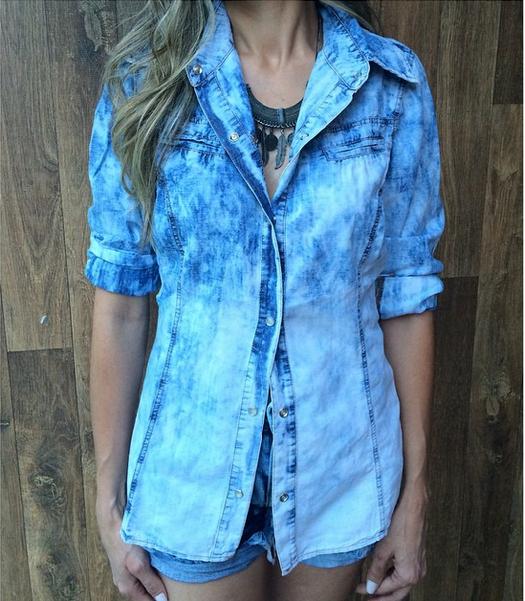 Camisa Jeans R$89 - Lfcomprinhas.iluria.com