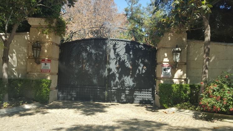 Casa do Michael Jackson!